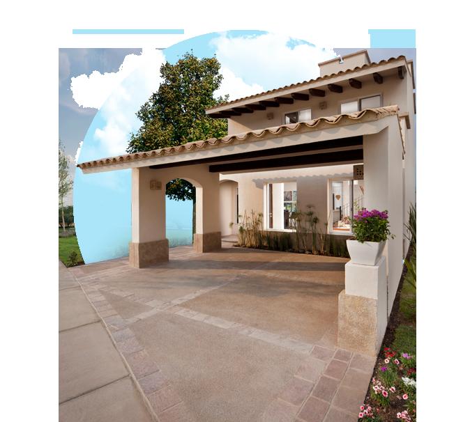 Casas en Mayorazgo, León, Guanajuato - Santa Elena Residencial - Modelo Asturia - Fachada