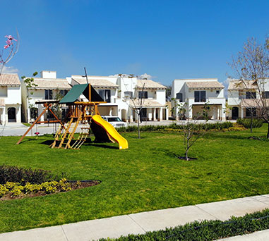 Foto de casas en venta en León, Mayorazgo Santa Elena, juegos infantiles.