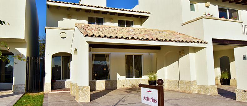 Foto de casas en venta en León, Mayorazgo Santa Elena, Modelo Asturias, fachada.
