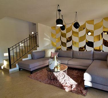 Foto de casas en venta en León, Mayorazgo Santa Elena, Modelo Asturias, sala.