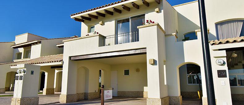 Foto de casas en venta en León, Mayorazgo Santa Elena, Modelo Bilbao, fachada.